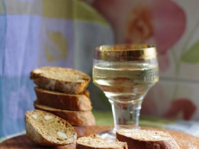 Бискотти с вином